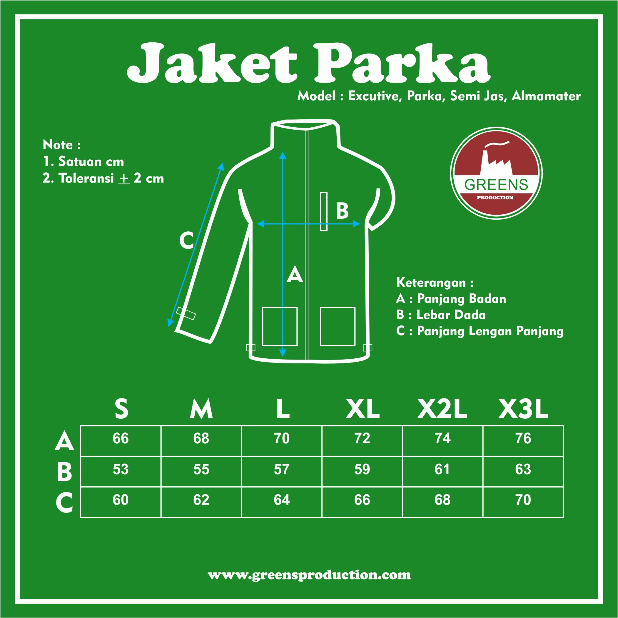 Jacket-Parka Jacket (Parka) greensproduction